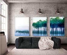 תמונה יער על המים