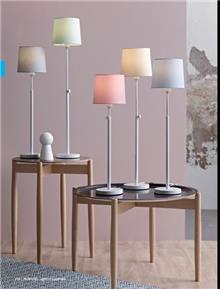 מנורות שולחן צבעוניות