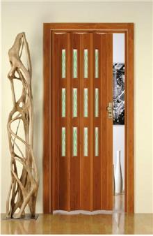דלת הרמוניקה עם חלונות