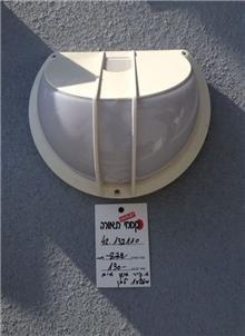 מנורה לבנה לקיר