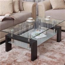 אלוף המזרונים - שולחן סלון מלבני