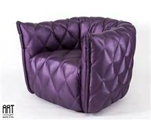 כורסא בגוון סגול