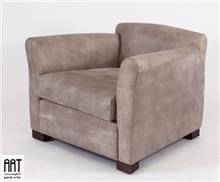 כורסא חומה לחדר המגורים