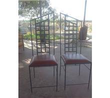 כסאות מתכת