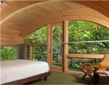 חלון מעץ אלומיניום