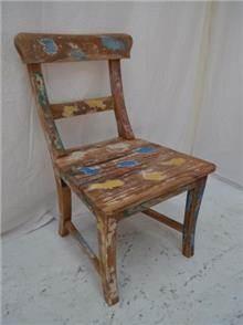 כסא אוכל עץ טיק