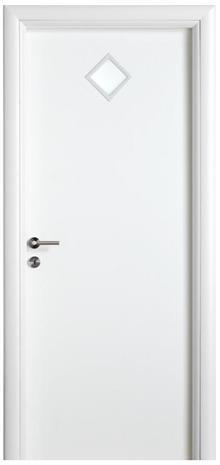 דלת עם צוהר מעויין