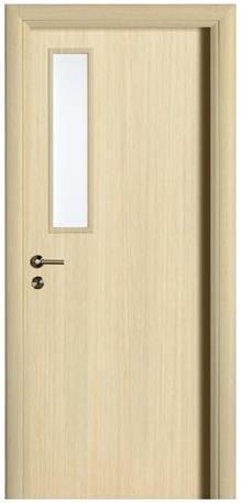 דלת עם צוהר צדדי