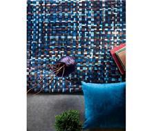 שטיח כחול חום