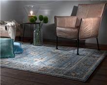 שטיח כחול מקולקציית וינטאג'
