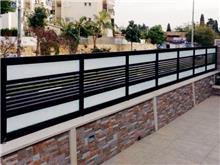גדרות משולבות זכוכית - טרלידור