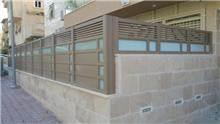 גדר בשילוב הייטק וזכוכית - טרלידור