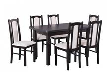פינת אוכל בשחור - אלבור רהיטים