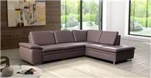 אלבור רהיטים - ספת שזלונג חומה