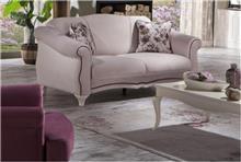 ספה דו מושבית בהירה