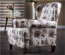 אלבור רהיטים - כורסא פרחונית מעוצבת