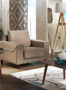 אלבור רהיטים - כורסא בהירה