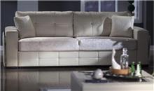אלבור רהיטים - ספה לבנה יוקרתית