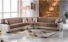 אלבור רהיטים - ספה פינתית גדולה