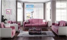 אלבור רהיטים - מערכת ישיבה ורודה