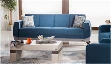 ספה בצבע כחול - אלבור רהיטים