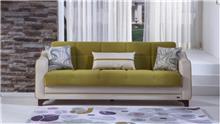 ספה לבן ירוק - אלבור רהיטים