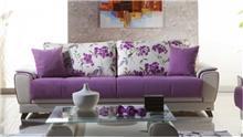 אלבור רהיטים - ספה סגולה יחודית