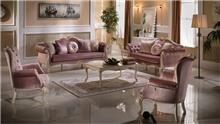 אלבור רהיטים - סלון ורוד