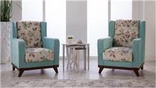אלבור רהיטים - כורסאות מעוצבות פרחוניות