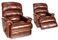 אלבור רהיטים - כורסא אורתופדית חומה