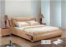 אלבור רהיטים - מיטה מעוצבת