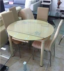שולחן זכוכית - אלבור רהיטים