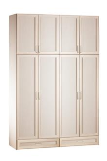 אלבור רהיטים - ארון 4 דלתות