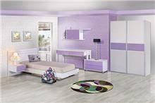 חדר ילדים סגול - אלבור רהיטים
