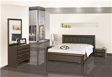 חדר שינה יוקרתי חום - אלבור רהיטים