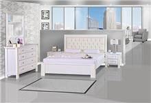 חדר שינה לבן - אלבור רהיטים