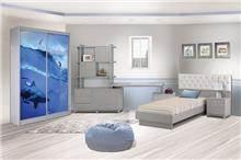 חדר ילדים דולפינים - אלבור רהיטים