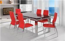 שולחן אוכל שחור - אלבור רהיטים