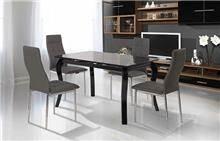 שולחן שחור לפינת האוכל - אלבור רהיטים