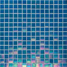 אבני ניצן - פסיפס בריכה כחול