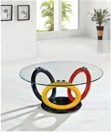 שולחנות צבעוניים - כסא נדנדה