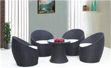 כסא נדנדה - פינת ישיבה עגולה