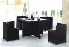 כסא נדנדה - פינת ישיבה בשחור