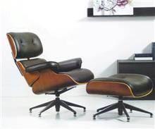 כסא נדנדה - כורסת עור מעוצבת