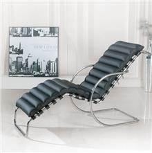 כסא נדנדה - כורסה מעור