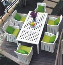 רהיטי גן ומרפסת - כסא נדנדה