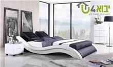מיטת גל מרופדת
