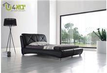 מיטה שחורה מפוארת