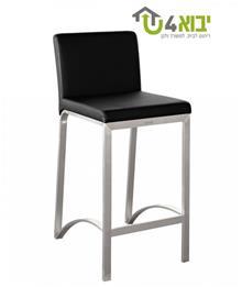 יבוא 4 יו - כיסא בר מעוצב מנירוסטה