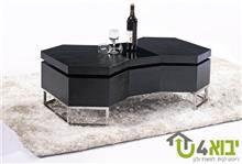 שולחן סלוני בצבע שחור - יבוא 4 יו